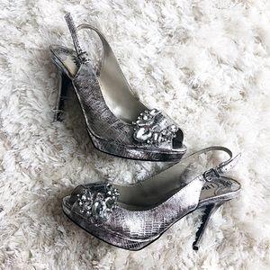 J. Renee Silver Heels
